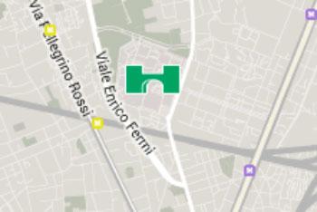 mini mappa niguarda cancer center