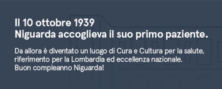 Cura e Cultura per la salute dal 1939